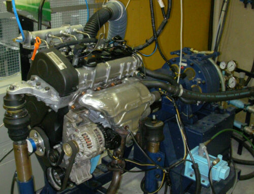 Conversion of a commercial spark ignition engine to run on hydrogen: Performance comparison using hydrogen and gasoline